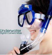 Маска для аквалангистов с камерой HD