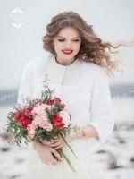 Свадебная шубка прокат меха в Москве фото