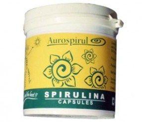 Капсулы спирулины Aurospirul (Ауровилль)