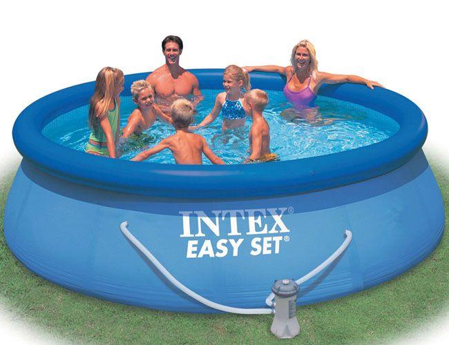 Бассейн INTEX круглый Easy Set 366х91см 28146 (56932) + насос-фильтр