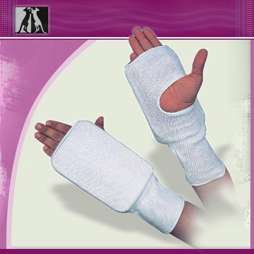 Защита руки эластичная, белая, полиэстер, junior, артикул 14004, KANGO