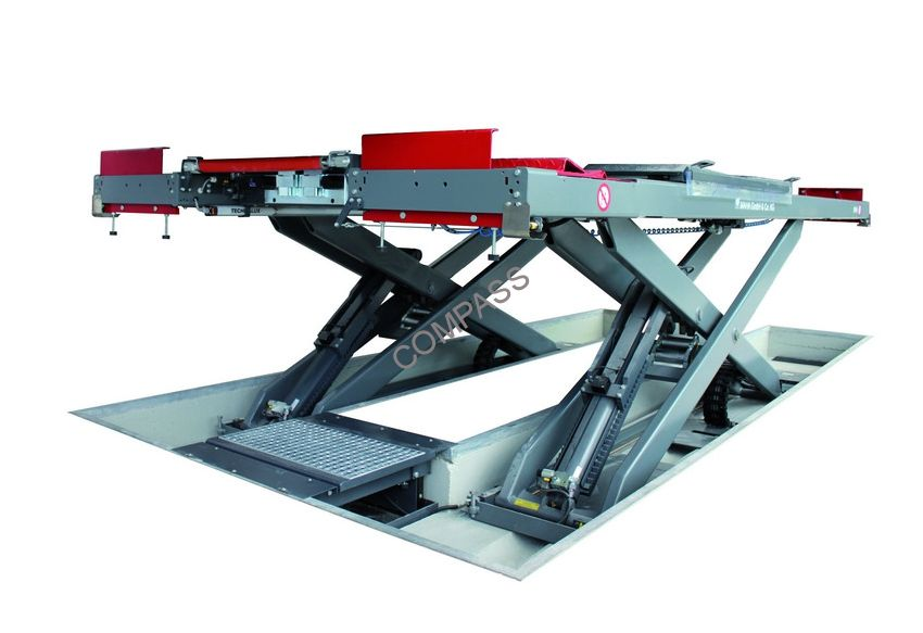 Подъемник ножничный напольный г/п 5000 кг., платформы гладкие, Slift (Германия)