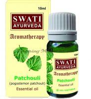 Натуральное эфирное масло Пачули Свати Аюрведа (Swati Ayurveda Essential Oil Patchouli)