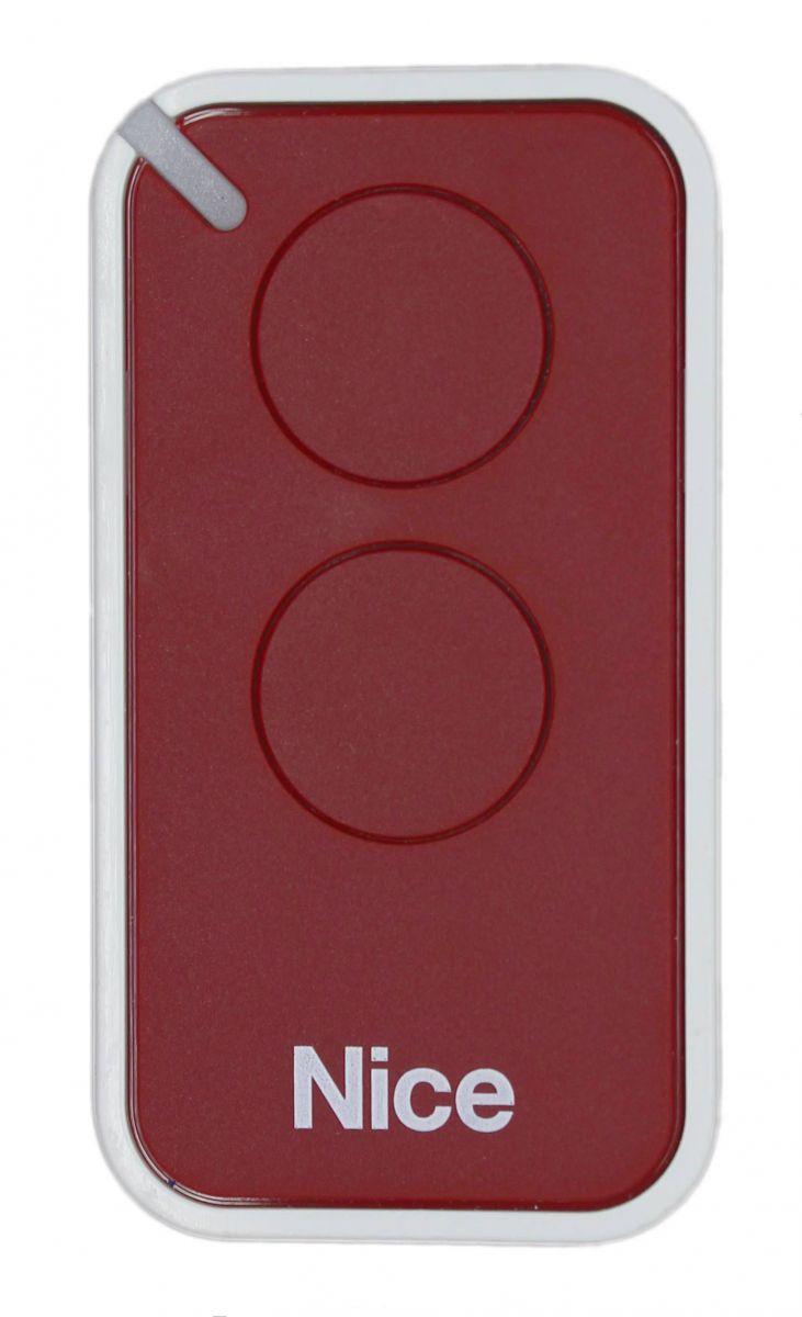 Пульт Nice INTI2R, динамический код, бордового цвета.