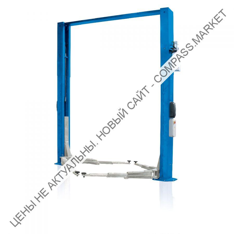 Подъемник двухстоечный электрогидравлический, г/п 5000 кг, Ravaglioli (Италия)