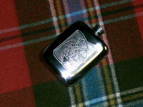 Фляга из олова (британский пьютер)- Кельтские Змеи