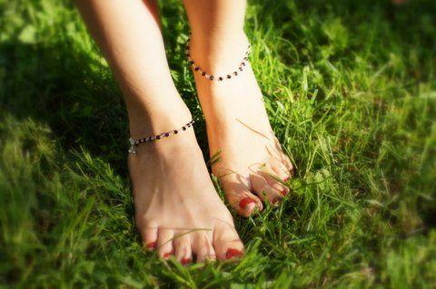 Серебряные браслеты на ногу (отправка из Индии)