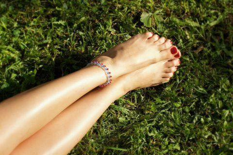 Ножные браслеты из серебра (отправка из Индии)