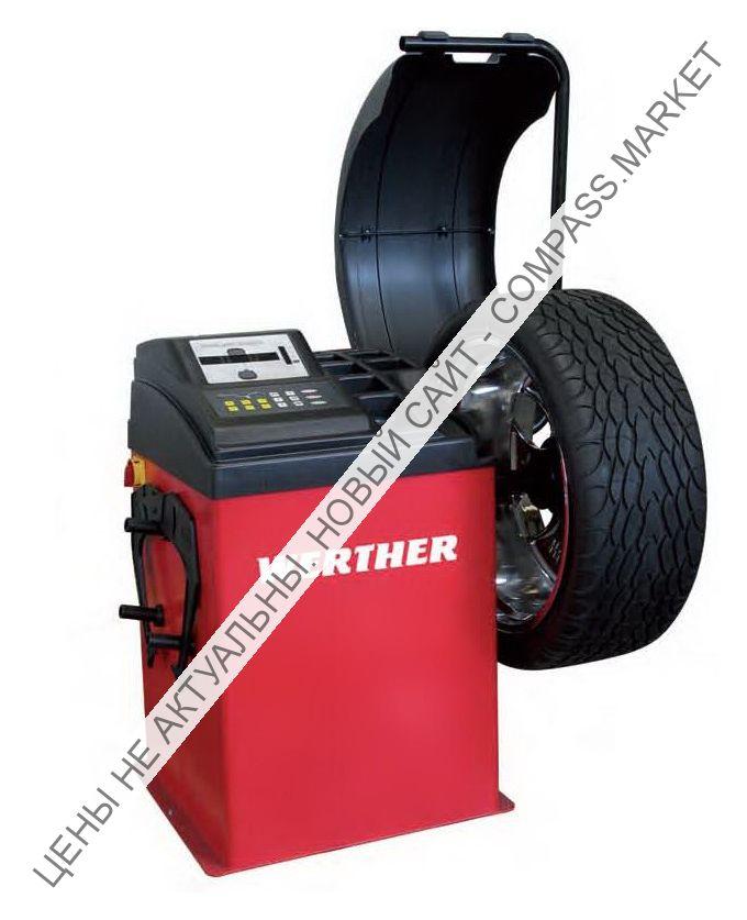 Балансировочный станок с ручным вводом параметров, Werther-OMA (Италия)