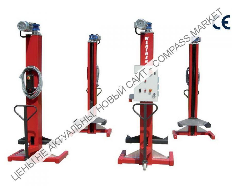 Колонны подкатные электромеханические г/п 4х5,5 т, Werther-OMA (Италия)