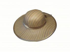 Соломенная женская шляпа