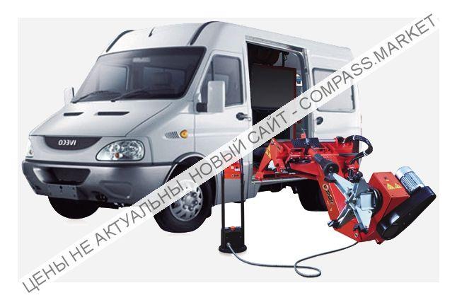 """Мобильный шиномонтажный станок для коммерческого транспорта 13-26"""", KraftWell (КНР)"""