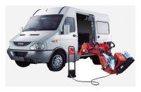 """Мобильный шиномонтажный станок для коммерческого транспорта 13-26"""", KraftWell"""