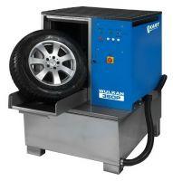 Мойка для колес легковых и грузовых автомобилей с пневматической установкой стабилизации колеса, Kart (Польша)