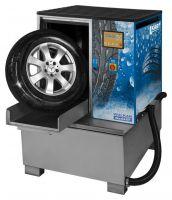 Мойка для колес легковых и грузовых автомобилей, с пневматической стабилизацией колеса, Kart (Польша)