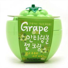 BAVIPHAT GRAPE ANTI-WRINKLE GEL CREAM 100g - ночной крем-гель от морщин с экстрактом винограда