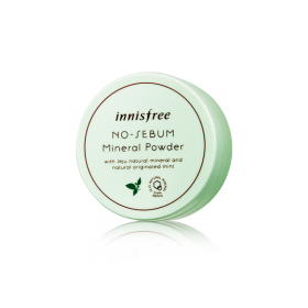 INNISFREE NO SEBUM MINERAL POWDER 5g - минеральная рассыпчатая матирующая пудра