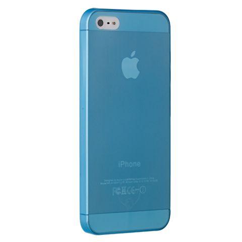 Ультра тонкий чехол 0.3мм для iphone 5c Синий