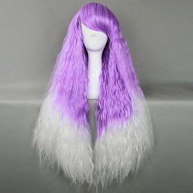 Парик фиолетовый с белым Лолита