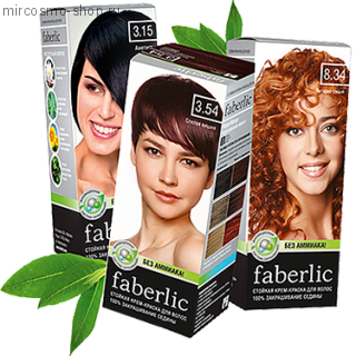 Стойкие крем-краски Faberlic