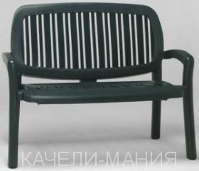 """Скамейка """"Lipari"""" зеленая"""