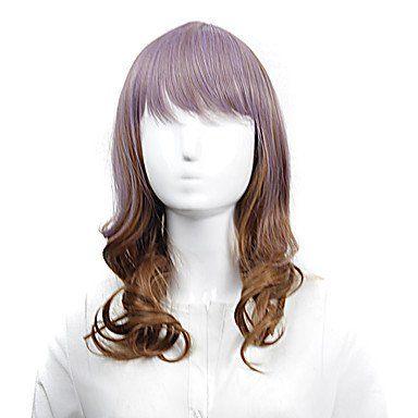 Смешанный коричневый парик Лолита