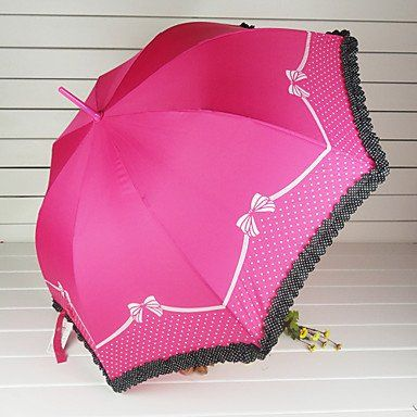 Зонтик в горошек