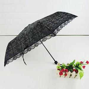 Зонтик с кружевами