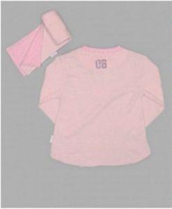 Джемпер ясельный розового цвета Лилипут