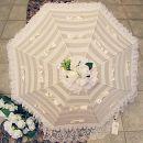 Зонтик с кружевами и бантиками