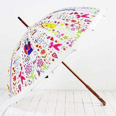 Зонтик цветочная фантазия