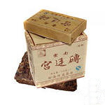 Пуэр плитка  Дворцовый  (2006 г) 100 г  - прессованный элитный китайский чай пуэр.