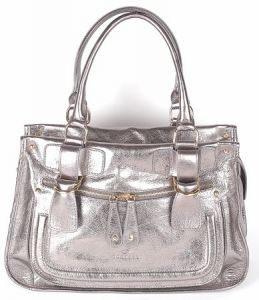Итальянская серебряная сумка