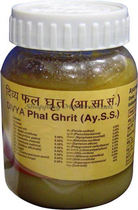 Пхал Гхирта для женского здоровья Патанджали Аюрведа (Divya Patanjali Phal Ghrit)