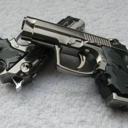 """Зажигалка """"Пистолет""""."""