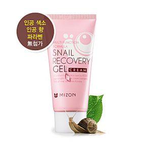 MIZON SNAIL RECOVERY GEL CREAM 45ml - улиточный крем-гель