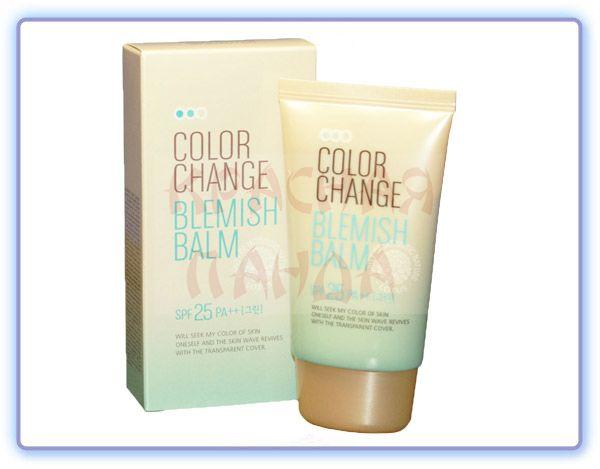 Welcos СС Крем Color Change Blemish Balm SPF25 PA++