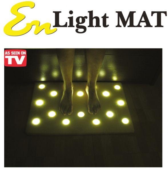 Коврик с подсветкой для пола с 16 Led светильниками EN Light Mat (Эн Лайт Мат)