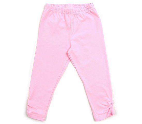 Бриджи для девочки розовые Крокид