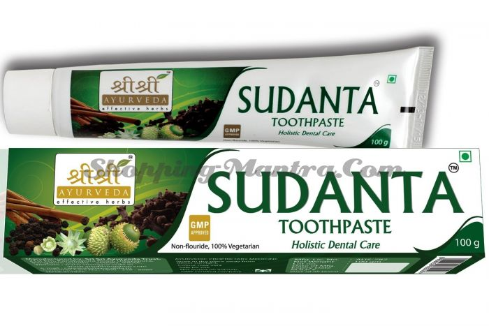 Зубная паста Суданта Шри Шри Аюрведа (Sri Sri Ayurveda Sudanta Toothpaste)