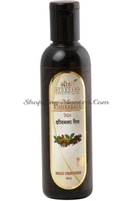 Масло для укрепления мышц Кширабала Шри Шри Аюрведа (Sri Sri Ayurveda Ksheerabala Taila)
