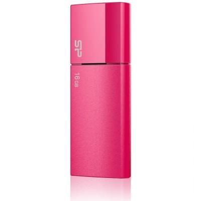 8GB USB 3.0 накопитель Silicon Power B05 мет красный выдвижной