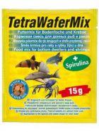 Tetra WaferMix Смесь для травоядных и хищных донных рыб с добавлением креветок (15 г)