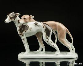 Охотничьи собаки, Karl Ens, Германия, 1920-30 гг., артикул 10556