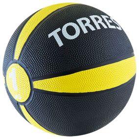 Медбол (медицинбол) Torres 1 кг.