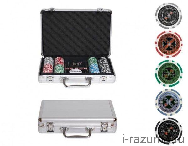 Покерный набор на 200 фишек «Ultimate» (фишка 14 гр./алюминиевый кейс)