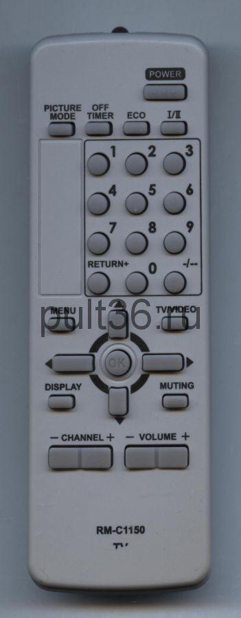 Пульт ДУ JVC RM-C1150