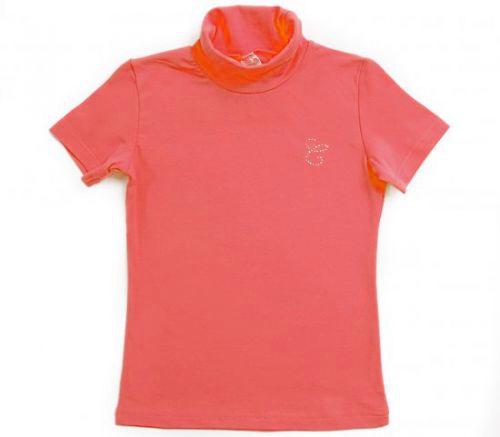 Розовая блузка для девочки Crockid