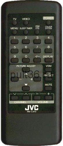 Пульт ДУ JVC RMC-470