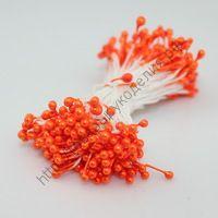 тычинки жемчужные оранжевые
